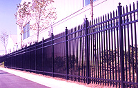 Delgard Commercial Madrid Aluminum Fence
