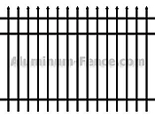 Degard Guardian Avalon Aluminum Fence