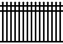 Delgard Guardian Avalon Aluminum Fence