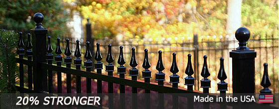 Fall Sale Aluminum Fence