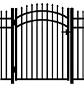 Jerith Aluminum Accent Gate Modified 101