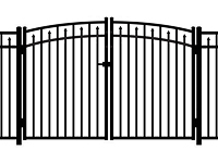 Jerith Aluminum Gate Rainbow 200 Modified