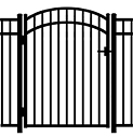 Jerith Aluminum Accent Gate Modified 202