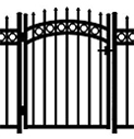 Jerith Aluminum Accent Gate Buckingham Plus
