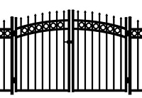 Jerith Aluminum Gate Rainbow Buckingham Plus