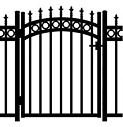 Jerith Aluminum Accent Gate Kensington Plus