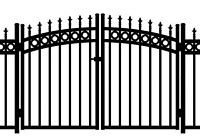 Jerith Aluminum Gate Rainbow Kensington Plus