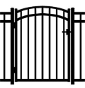 Jerith Aluminum Accent Gate Windsor