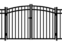 Jerith Aluminum Gate Rainbow Windsor