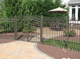 Jerith Aluminum Buckingham Rainbow Gate