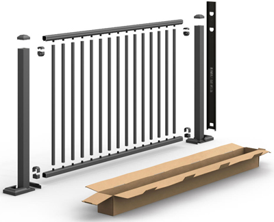 UltraMax Aluminum Railing Kit