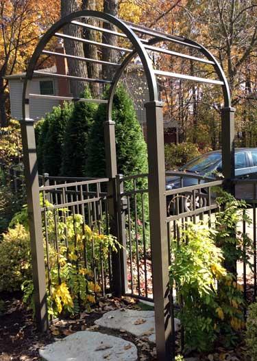 Aluminum Garden Arbor